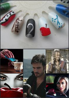 Once upon a time nail art
