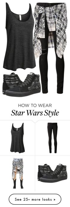 """""""It's Over."""" by jlol on Polyvore featuring Faith Connexion, rag & bone/JEAN, LE3NO and Vans"""