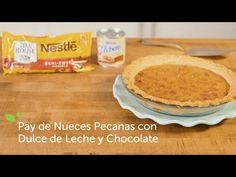Pay de Nueces Pecanas con Dulce de Leche y Chocolate | Recetas de Nestlé | ElMejorNido.com