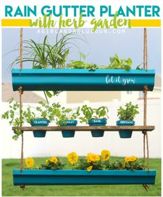 Awesome things to make with RAIN GUTTERS
