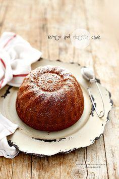 Torta alla ricotta e limone - Lemon and Ricotta Cake