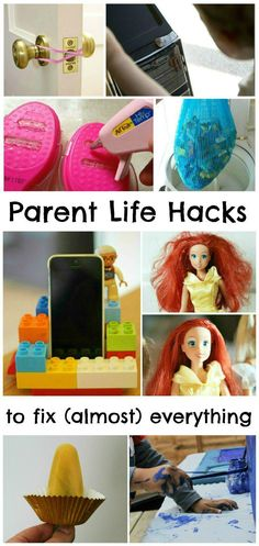15 parent life hacks to fix (almost) everything