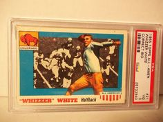 1955 Topps Whizzer White RC PSA VG 3 Football Card #21 NFL Collectible #Colorado