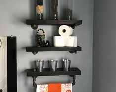 Houten Stellingkast Badkamer : Beste afbeeldingen van badkamer handdoeken home decor