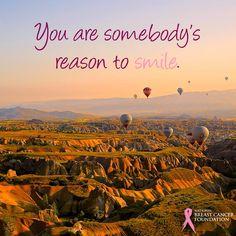 You are somebody's reason to smile. #MotivationalMonday #motivational #smile