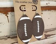 Image result for how to make leather earrings