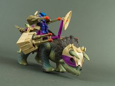 Dino Riders Triceratops-2 | Flickr - Photo Sharing!