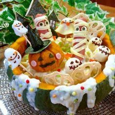 * Happy Halloween bento