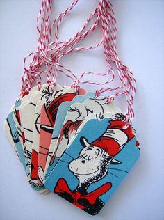 Vintage Dr.Seuss tags