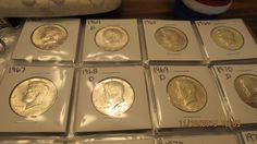 1964 to 2017 P/D Uncirculated Kennedy Half Dollar Collection!!