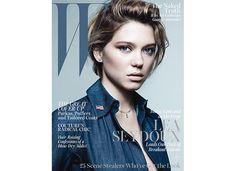 lea seydoux w magazine hair garance dore