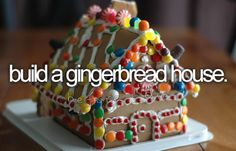 How to Build a Life-Sized Gingerbread House