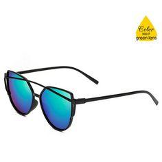 4d001d759d4e 2017 New Cat Eye Sunglasses Women Brand Designer Fashion Cateye Sun Glasses  For Female UV400 Oculos