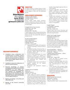 JulieS Visual Resume  Art Careers Unit Th    Resume
