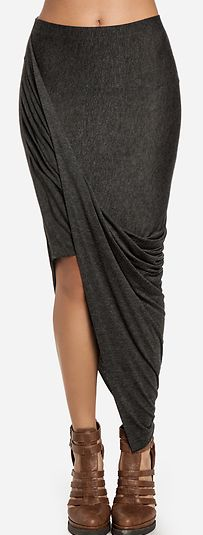This twisted skirt, so good!