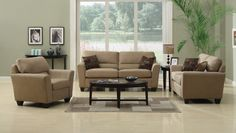 iSimone in Beige - $497.00 Couch Only (3 piece set - $1267.00)