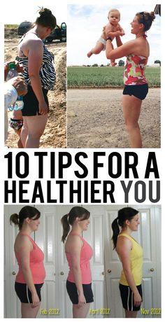 10 Tips For A Healthier YOU!