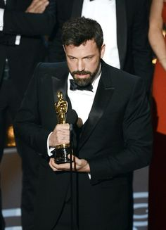 """Ben Affleck accepts the Best Picture award for """"Argo"""" onstage during the Oscars held at the Dolby Theatre on February 24, 2013 in Hollywood, California. (Photo by Kevin Winter/Getty Images)"""
