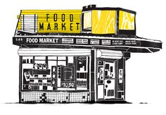 Melissa Gorman's illustrations of Brooklyn bodegas are a fun and beautiful exercise