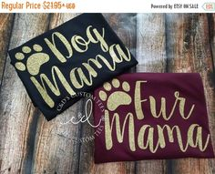 ON SALE Fur Mama Tank - Dog Mama Tank - Glitter Fur Mom Shirt - Pet Mom Shirt - Rescue Mom - Dog Mom Tank - Women\'s Tank Top - Cat Mom Tank by CDCustomTees on Etsy https://www.etsy.com/listing/470630137/on-sale-fur-mama-tank-dog-mama-tank
