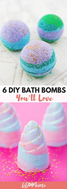 Instead of wasting all that money on bath bombs that are only food for one use, try our this DIY bath bomb recipes! They are easy and so gorgeous. Wine Bottle Crafts, Mason Jar Crafts, Mason Jar Diy, Diy Hanging Shelves, Floating Shelves Diy, Rope Shelves, Tips And Tricks, Bath Bomb Recipes, Soap Recipes