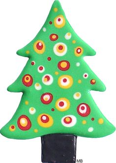 Christmas Tree Cookie Cutter (large with handle)