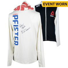 Cody Pfister Ultimate Fighting Championship Fanatics Authentic Autographed  UFC 189  Mendes vs. McGregor Event 5124a11c4