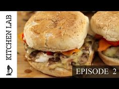 Kitchen Lab by Akis Petretzikis [Episode - Light Burger Nutrition Tips, Health And Nutrition, New Recipes, Healthy Recipes, Recipies, Healthy Food, Burger Kitchen, Good Food, Yummy Food