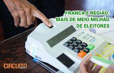 FRANCA E REGIÃO ULTRAPASSAM MEIO MILHÃO DE ELEITORES