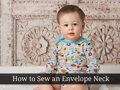 How to Sew an Envelope Neck - Peek-a-Boo Pattern Shop
