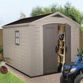 Found it at Wayfair - Factor 8 Ft. W x 11 Ft. D Resin Storage Shed