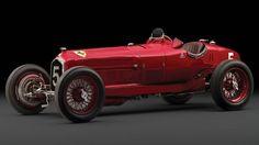 El Alfa Romeo Tipo B P3 de 1934 subastado monta un motor de 2,9 litros y 255 caballos (RM Sotheby's).