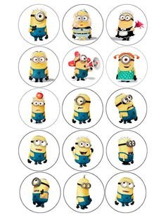 Minion Pinata, Minion Theme, Minion Birthday, Minion Party, My Minion, Minion Cupcake Toppers, Minion Drawing, Minion Stickers, Paw Patrol Characters