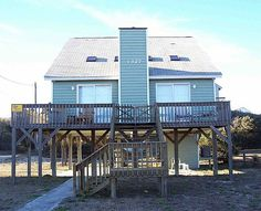 3 bed 2 ba..no pool. Cottage vacation rental in Surf City from VRBO.com! #vacation #rental #travel #vrbo