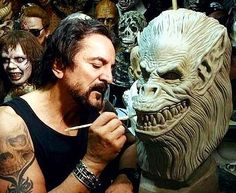 Happy birthday to Tom Savini. Thanks for getting us started in the film business........ #tomsavini #frithe13 #fridaythe13 #creepshow #spfx #efx #lonchaney #dracula#lugosi #zombie #zombies #famousmonsters #universalmonsters#movieposters #moviememorabilia#movieposter #makeupeffects #karloff#chaney#frankenstein#dawnofthedead #savini #halloween #georgeromero #dayofthedead #gore #horror #horrormovies #pittsburgh #faceoff by beateyemedia