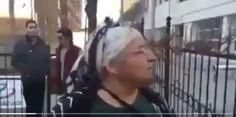 """YSK önünde bir teyze:"""" Oylarımızı verin, çaldığınız paralar sizin olsun""""/video"""