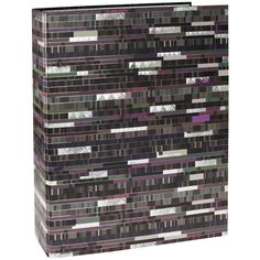 Ordner Factum mit 8 cm Rücken Einband: Naturpapier mit Silberprägung und Relief / 2-Ring Hebelmechanik / Größe: 28,8 x 32 cm