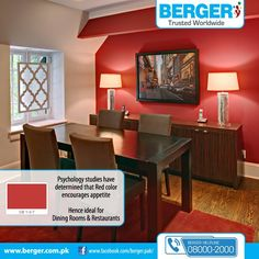 #Berger #BergerPaintPakistan #BergerPaint #Color #Paint #Decor #DiningRoom #DiningRoomIdeas