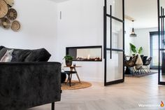Modern Home Interior Design, Interior Styling, Steel Doors, House Rooms, Home Living Room, New Homes, House Styles, Furniture, Inspiration
