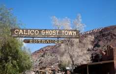 Calico Ghost Town... One of my families favorite places to visit