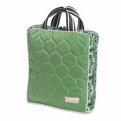 Cosmetic Bag II- Vertical, Verde Bonita @organizingstore