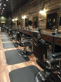 Barber shop, barber chairs, salon