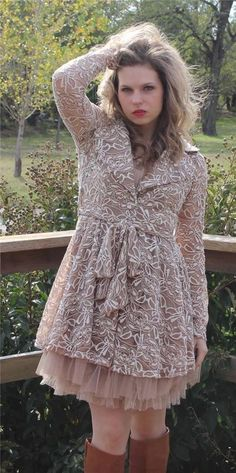 NWT Ryu Mod Cloth Romantic Gypsy Retro Boho Tulle Bottom Lace Jacket SIZE S-M-L #Ryu #BasicJacket