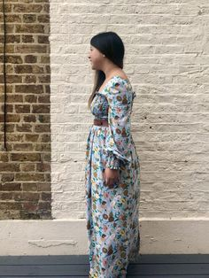 On making my own version of a Ganni dress! - Self Assembly Required By Hand London, Danish Fashion, Bishop Sleeve, Top Stitching, Contemporary Style, Night Gown, Fashion Brand, Bodice
