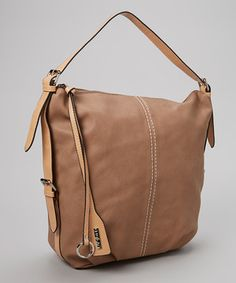 $40, 6 Apr 2014. Could definitely double as a diaper bag. Look at this #zulilyfind! David Jones Camel Stitched Hobo by David Jones #zulilyfinds
