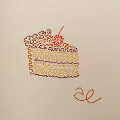 8. Pastel . #jarsart #jartober2020 #cake #chocolatecake #pastel Chocolate Cake, Pastel, Jar, Instagram, Decor, Chicolate Cake, Chocolate Cobbler, Cake, Decoration