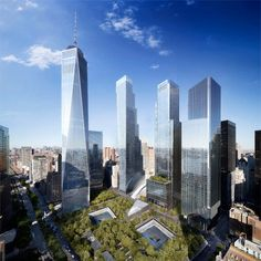 This Stacked Building Concept Will Replace the World Trade Centers #architecture trendhunter.com