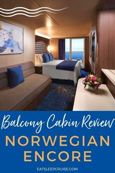 Every cruise line offers various stateroom categories available for booking. For our recent Norwegian Encore cruise, we stayed in a pretty typical balcony stateroom. If you want to know what it is like to stay in this type of accommodation, we share our thoughts and plenty of photos in this Norwegian Encore Balcony Stateroom Review. #cruise #cruisetips #CruisePlanning #NorwegianEncore #NCL