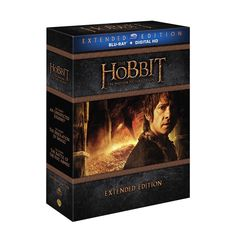 Hobbit, The: Motion Picture Trilogy (Extended Edition) (Blu-Ray + Hd Ultraviolet) from Warner Bros.: undefined #Movies #Films #DVD Video