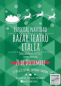 Bazar Teatro Italia 21.12.2014
